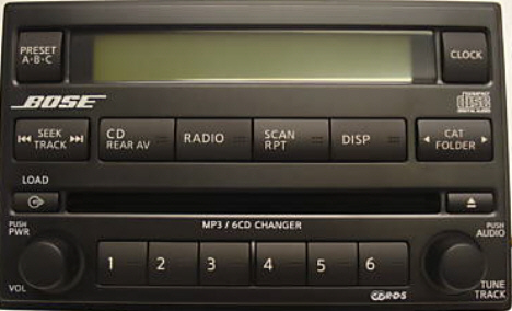 Nissan car stereo repairs