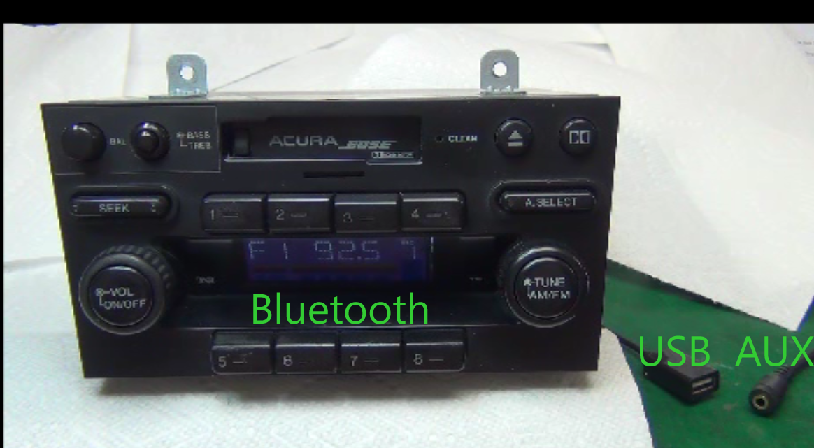 Factory Car Stereo Repairs and/or add an AUX input!