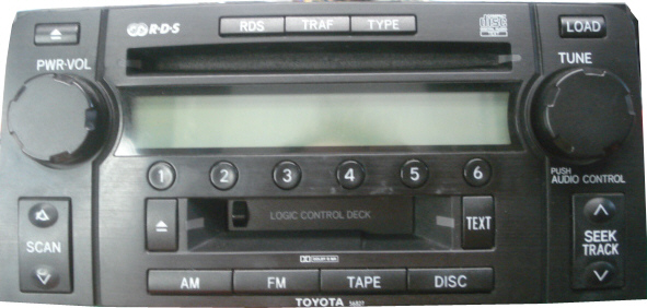 Toyota Stereo and CD Changer Repair