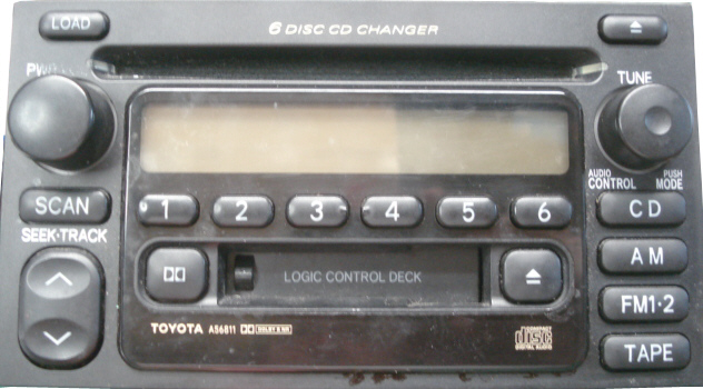Toyota Stereo And Cd Changer Repairrhwillmanselectronics: 2000 Camry Radio Security Code At Gmaili.net
