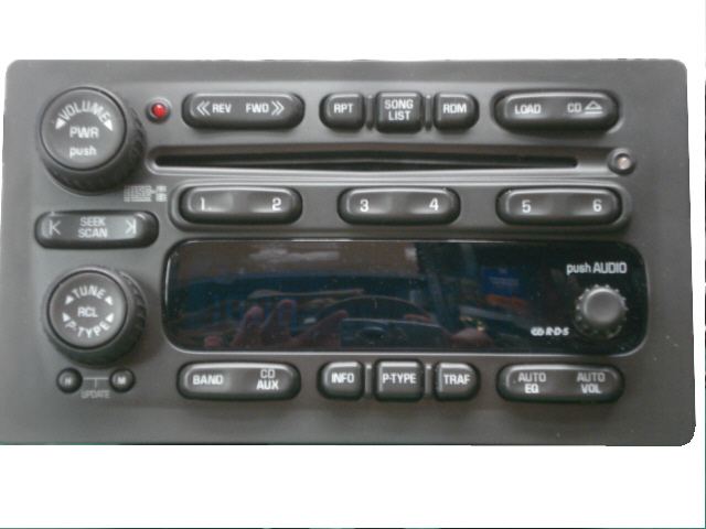 Gm car stereo repair of cd changer that wont eject or play cds gm in dash changers sciox Choice Image