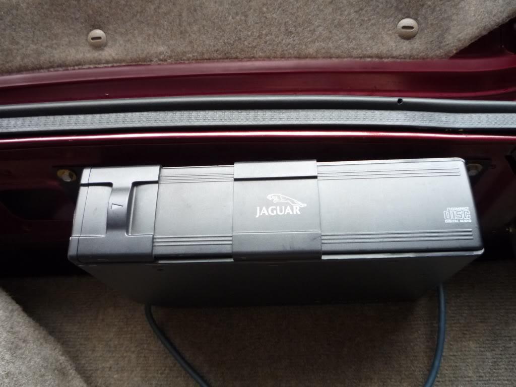 Jaguar CD Changer Repair