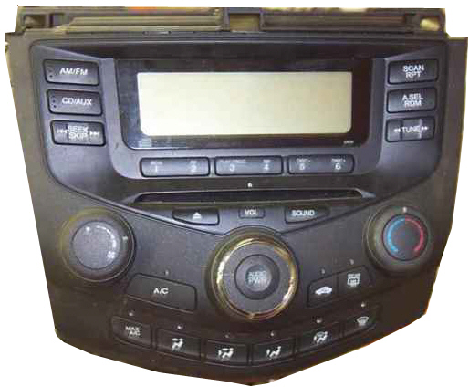 Honda Accord Car Stereo CD Changer Repair Andor Add An AUX Input - 2004 acura tl aux input