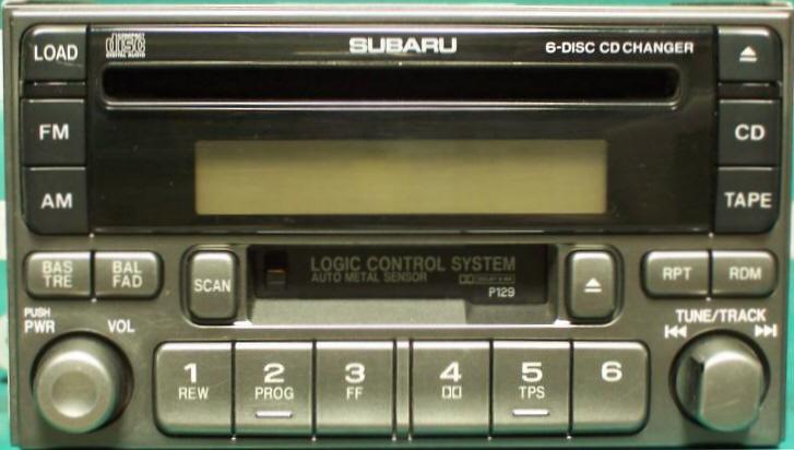 Subaru Stereo Repair