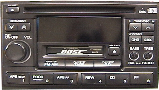 not sure if i need a bose or non bose stereo for my 98 nissan maximaNissan Altima Bose Stereo Removal #13