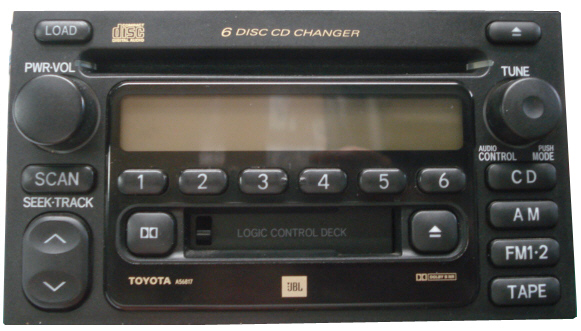 Acura Legend For Sale >> Toyota Stereo and CD Changer Repair