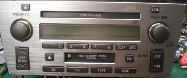 Lexus Stereo And Cd Changer Repairs